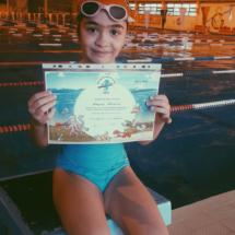 Çocuk Yüzme Başarı Sertifikası