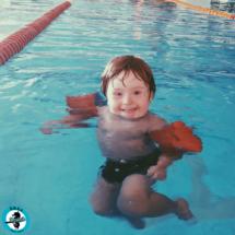 Engelli Çocuk Yüzme